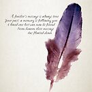 A Feather's Message by David Hayes