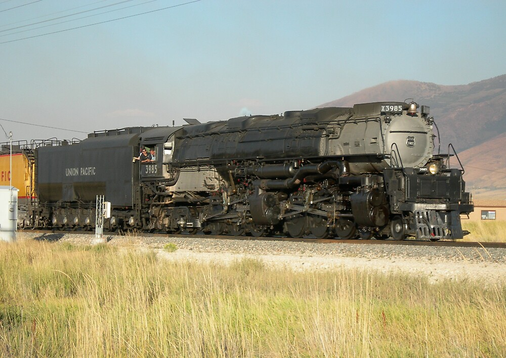 Steam Locomotive by buddrinker80