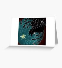 Spider Galaxy Greeting Card