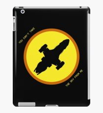Serenity - you can't take the sky from me iPad Case/Skin
