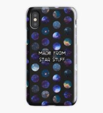 Made from Star Stuff in Black iPhone Case/Skin