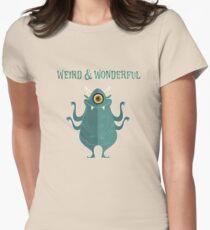 Weird And Wonderful Women's Fitted T-Shirt
