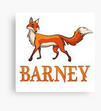 Barney Fox Canvas Print