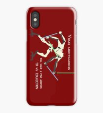 General Grievous - Your lightsabers will make a fine addition to my collection iPhone Case/Skin