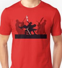Kylo Ren and Rey vs. Snoke's Praetorian Guard Unisex T-Shirt