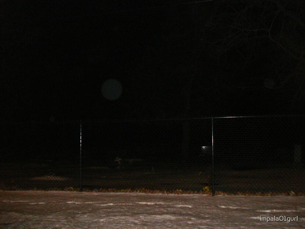 Orb Near Leaning Cross #1 by impala01gurl