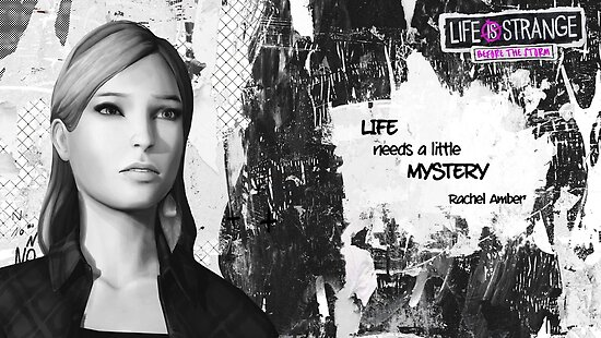 Life Is Strange Before The Storm Rachel Amber Quote Posters By