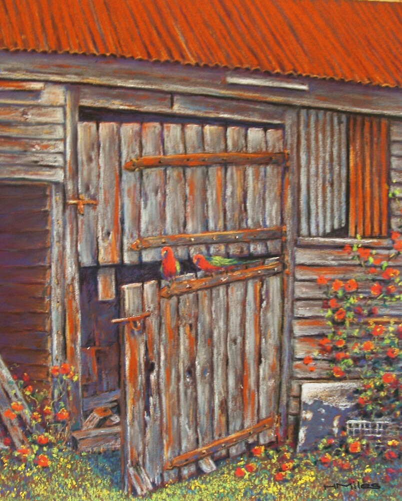 'King Parrot Perch' by Helen Miles