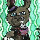 Llama so fancy by Heather Schmader