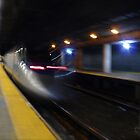Acela Express Exits Providence Station [ Featured* ] by Jack McCabe