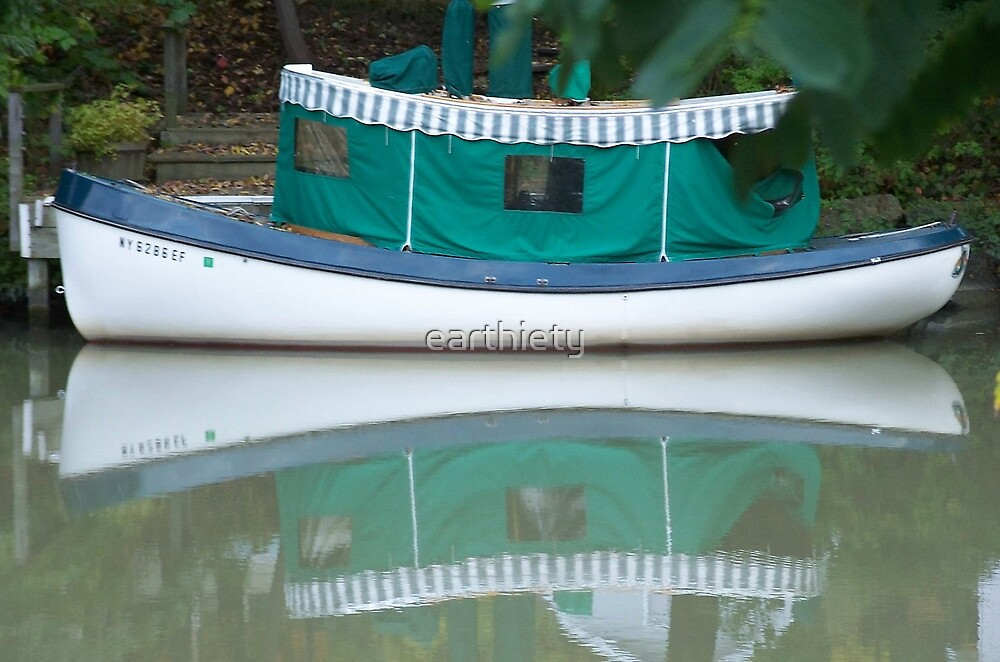 canal boat by earthiety