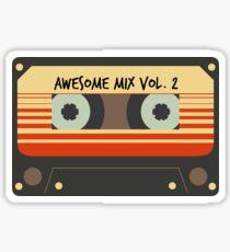 Awesome mix Vol. 2 Sticker