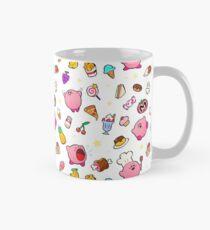 Kirby x Essen Muster Tasse