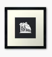 Al's Toy Barn Logo Framed Print