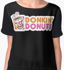 Donkin' Donuts Chiffon Top