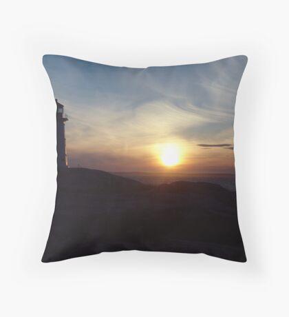 Fireball Descending Throw Pillow