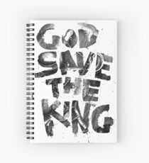 God Save the King Spiral Notebook