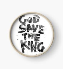 God Save the King Clock