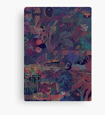 Glass Animals Zaba Canvas Print