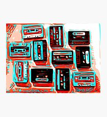 Audio Tapes Photographic Print