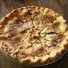 Brandied Apple-Peach Pie...Want a Slice?  by Heather Friedman