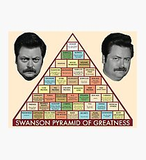 Pyramid of Greatness Photographic Print