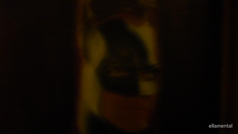 Shadow  Bat by ellamental