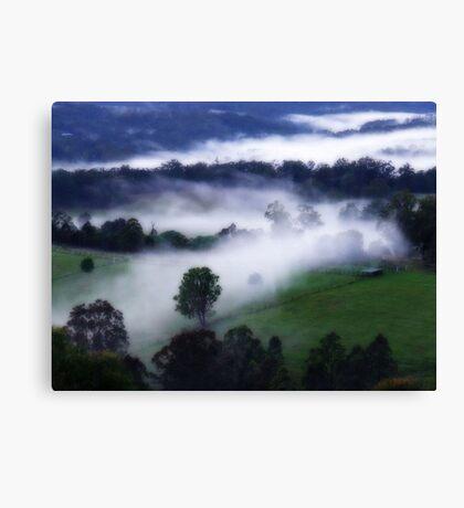 """Mystical Mist"" Canvas Print"