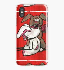 the walking fluff iPhone Case