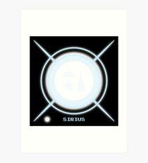 Star system: Sirius Art Print