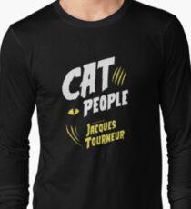 Jacques Tourneur Katzenmenschen Langarmshirt