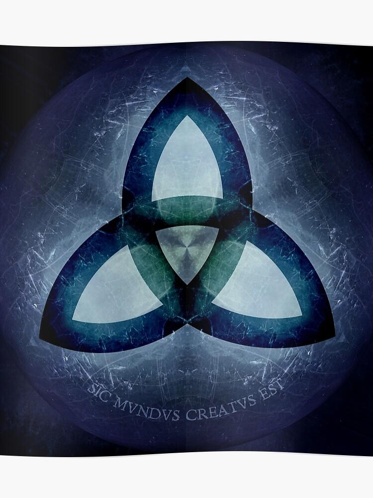 Sic Mundus Creatus Est Dark Poster