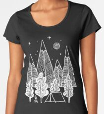 Camiseta premium para mujer Camp Line