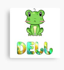 Dell Frog Canvas Print