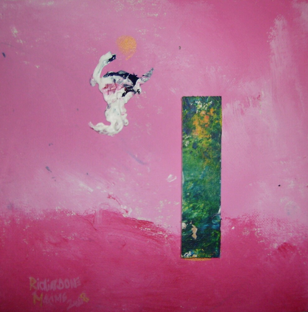 pink abstract one by mamax
