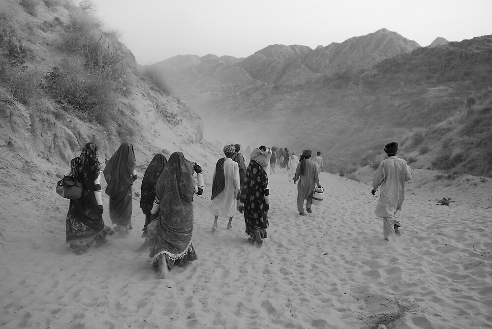 Road to the Pilgrimage by Emoto