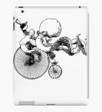 Bicycle Steampunk Octopus Design iPad Case/Skin