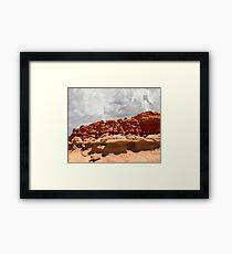 Goblin Valley State Park .2, Utah Framed Print