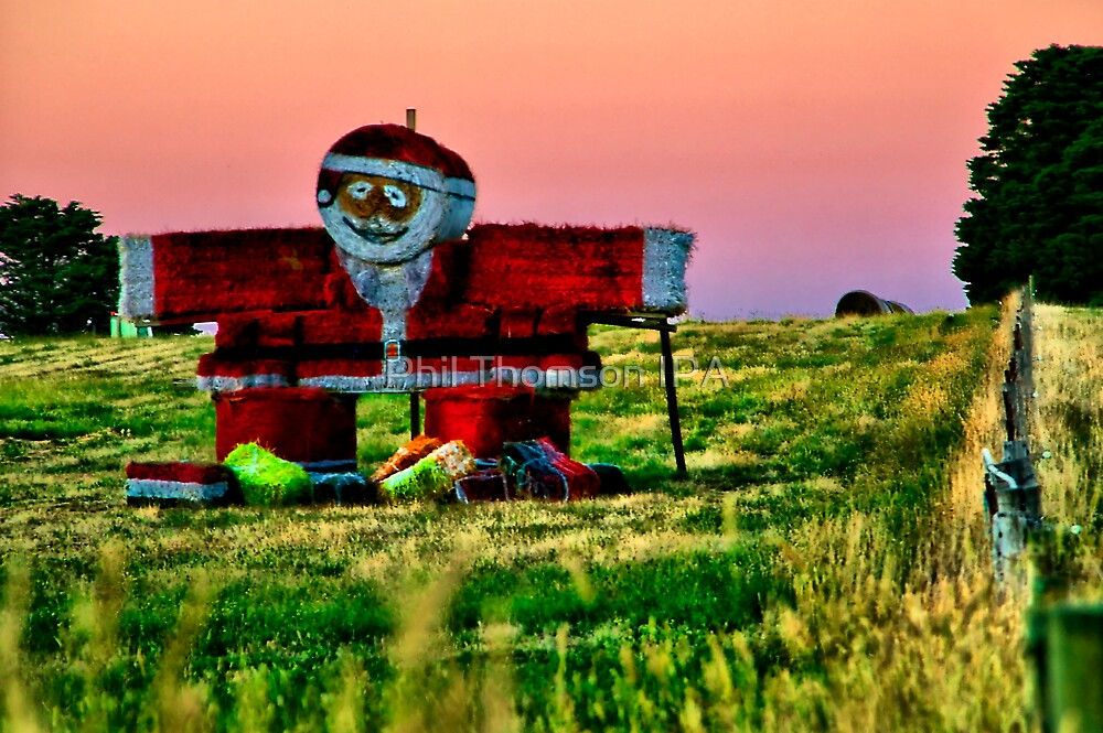 """""""Santa Baled Out on Christmas Eve"""" by Phil Thomson IPA"""
