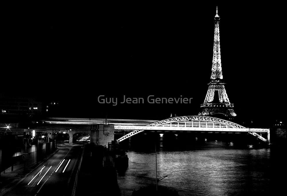 Paris scenic by Guy Jean Genevier