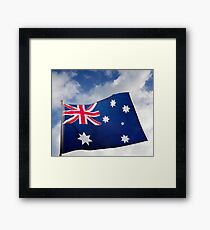 Flag of Australia Framed Print