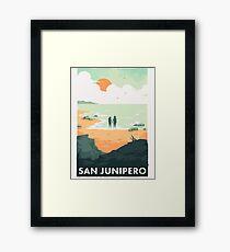 san junipero Framed Print