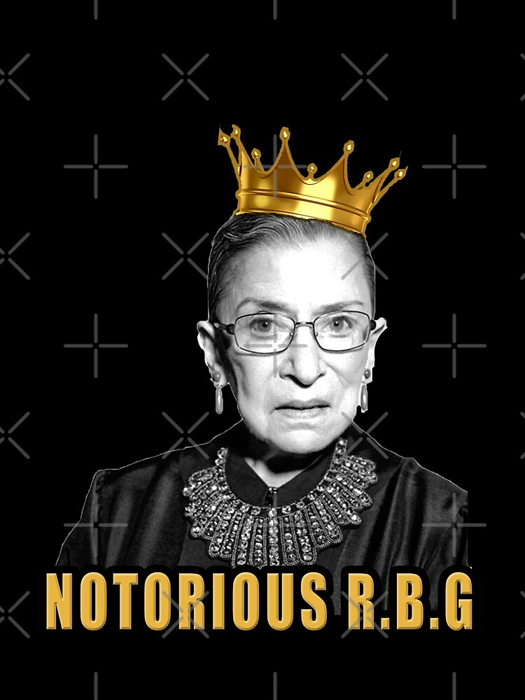The Notorious Ruth Bader Ginsburg (RBG) by Thelittlelord