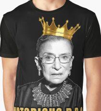 Camiseta gráfica La notoria Ruth Bader Ginsburg (RBG)