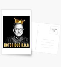 The Notorious Ruth Bader Ginsburg (RBG) Postcards