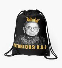 The Notorious Ruth Bader Ginsburg (RBG) Drawstring Bag