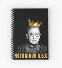 The Notorious Ruth Bader Ginsburg (RBG) Spiral Notebook