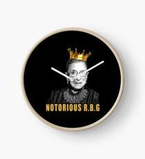 The Notorious Ruth Bader Ginsburg (RBG) Clock