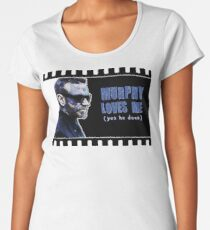 Murphy Loves Me (Yes He Does) [iPad / Phone cases / Prints / Clothing / Decor] Women's Premium T-Shirt