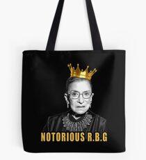 Bolsa de tela La notoria Ruth Bader Ginsburg (RBG)